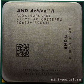 процессор AMD Athlon II X3 445