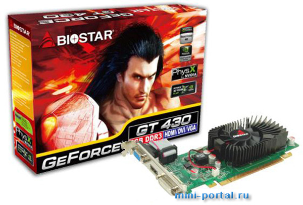 Biostar GeForce GT 430