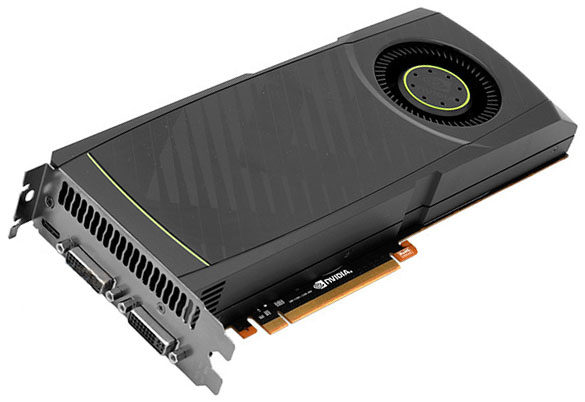 NVIDIA GeForce GTX 580 (фото и цена)