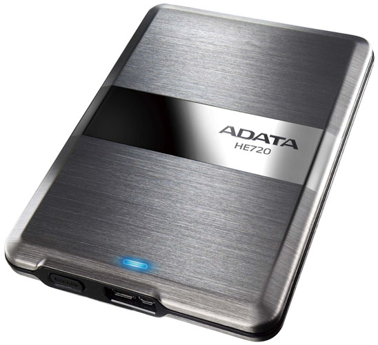 ADATA DashDrive Elite HE720: ����� ������ � ���� ������� HDD