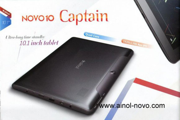 Китайский планшет Ainol Novo 10 Captain с экраном FullHD (фото и цена)