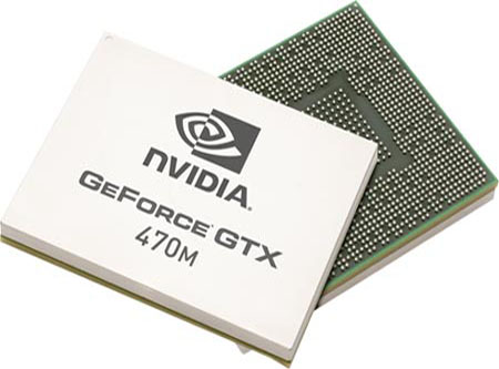 Мобильные GPU NVIDIA GeForce 400M