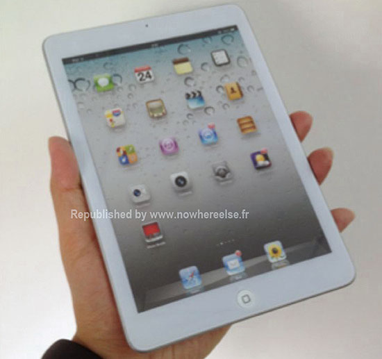 �������� ������������ �������� Apple iPad mini