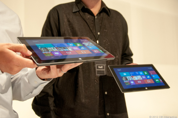 ������� �� Windows 8 Microsoft Surface: �������������� � �����