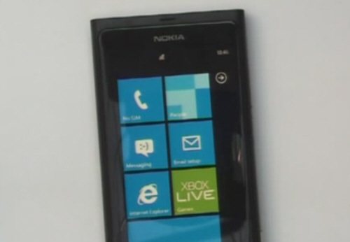 Смартфон Nokia N9 на Windows Phone 7 (+ фото)